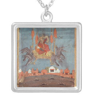 The Flying Carpet Silver Plated Necklace