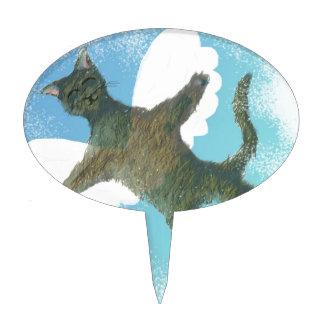 The Flying Cat Cake Topper
