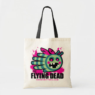 The Flying Dead Zombie Bee Zombee Budget Tote Bag