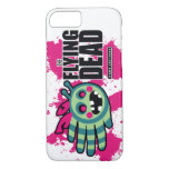 Hand shaped The Flying Dead Zombie Bee Zombee iPhone 8/7 Case