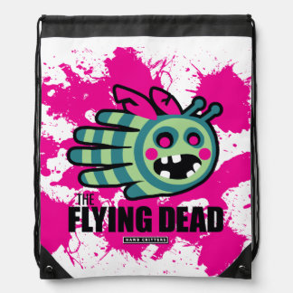 The Flying Dead Zombie Bee Zombee Drawstring Bag
