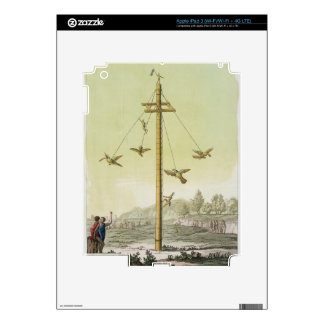 The Flying Game, from 'Le Costume Ancien et Modern iPad 3 Decals