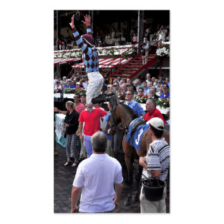 The Flying Lanfranco Dettori Double-Sided Standard Business Cards (Pack Of 100)