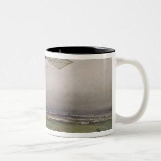 The Flying Machine Two-Tone Coffee Mug