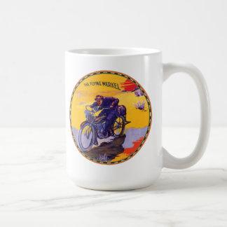 The Flying Merkel Motorcycle Coffee Mug
