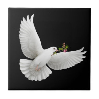 The Flying Peace Dove Tile