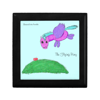 The Flying pony Keepsake Box