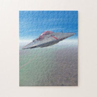 The Flying Saucer Jigsaw Puzzle