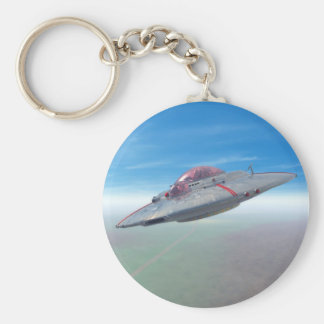 The Flying Saucer Keychain