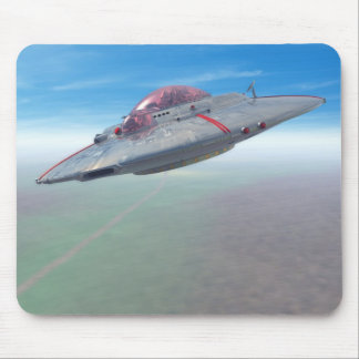 The Flying Saucer Mousepad