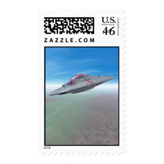 The Flying Saucer Postage