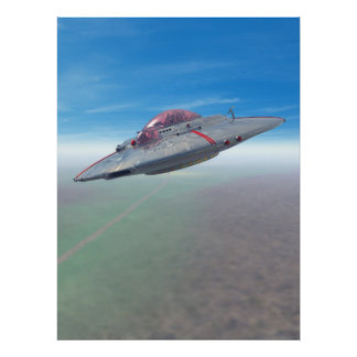 The Flying Saucer Poster