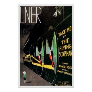 The Flying Scotsman - Large Poster
