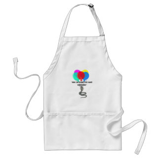 The Flying Snake Adult Apron