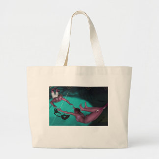 The Flying Trapeze Large Tote Bag