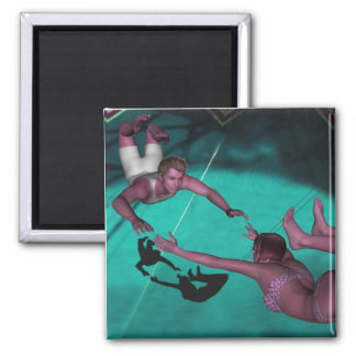 The Flying Trapeze Magnet