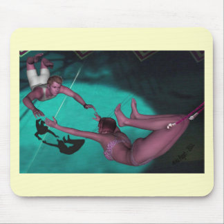 The Flying Trapeze Mouse Pad