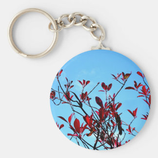 The 'Flying' Tree Basic Round Button Keychain