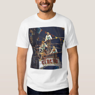 The Flying Wallendas Figurative Painting Tees