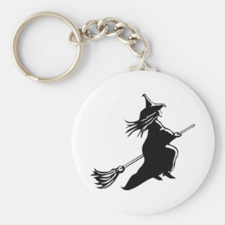 The Flying Witch Key Chain