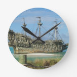the flyingdutchmen round wall clock