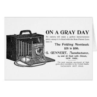 The Folding Montauk Camera Card