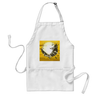 the folly and the fall of Icarus Adult Apron