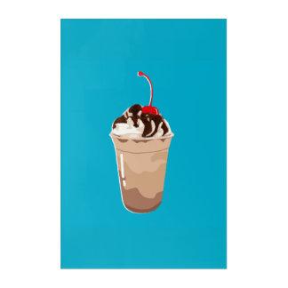 THE FOOD - FRAPPE/COFFEE ACRYLIC WALL ART