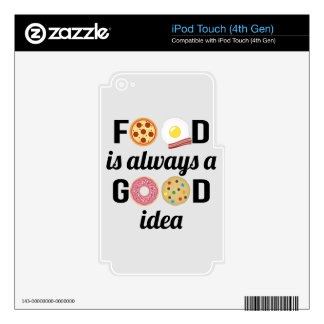 The Food Lover Decal For iPod Touch 4G
