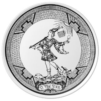 "The Fool-10.75"" Dinner plate"