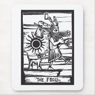 The Fool Mouse Pad