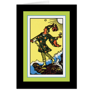The Fool Note Card