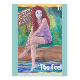 The Fool postcard
