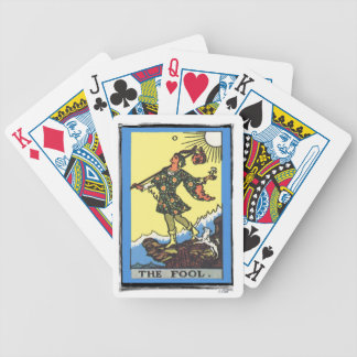 The Fool Tarot Card Fortune Teller Bicycle Playing Cards