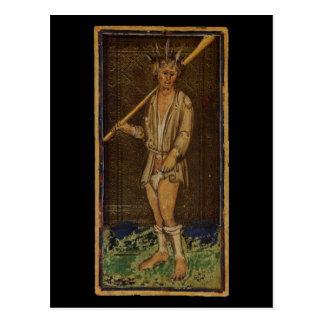 The Fool Tarot Card Postcard