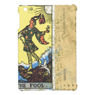 The Fool Tarot Card Vintage Postcard Case For The iPad Mini