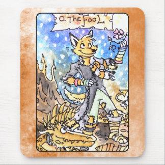The Fool Tarot Mouse Pad