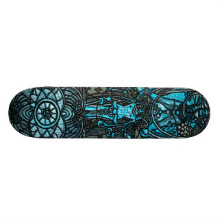 The Fool The Emperor Ace of Disk Skateboard