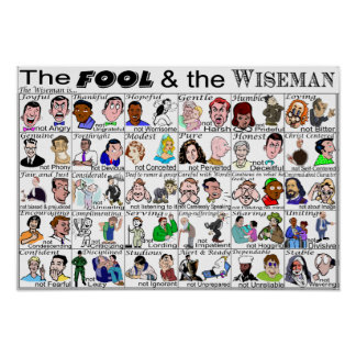 The Fool & the Wise Man Poster