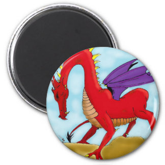 The Foolish Knight 2 Inch Round Magnet