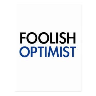 The Foolish Optimist Postcard
