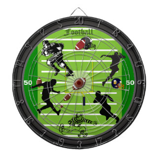 The Football Field Dartboard