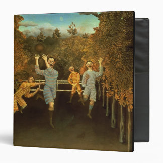 The Football players,1908 (oil on canvas) 3 Ring Binders