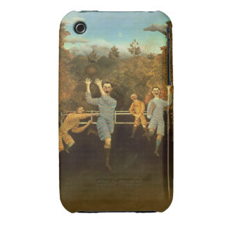 The Football players,1908 (oil on canvas) iPhone 3 Case-Mate Case