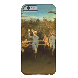 The Football players,1908 (oil on canvas) iPhone 6 Case