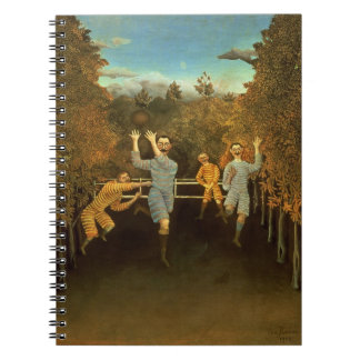 The Football players,1908 (oil on canvas) Notebook