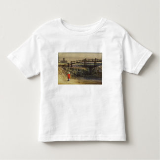 The Footbridge (Landscape with Red Cloak) (w/c and Toddler T-shirt
