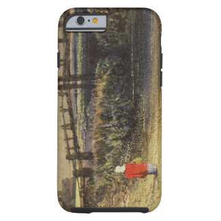 The Footbridge (Landscape with Red Cloak) (w/c and Tough iPhone 6 Case