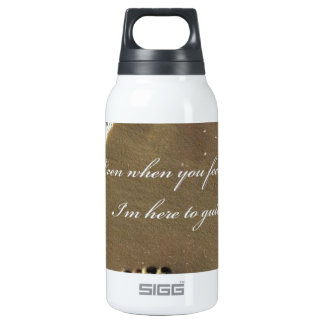 THE FOOTPRINT OF GOD INSULATED WATER BOTTLE