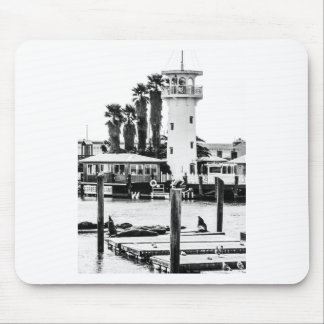 The Forbes Island Lighthouse Mouse Pad